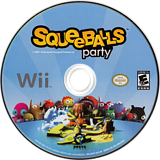 Squeeballs Party Wii disc (R6YEXS)
