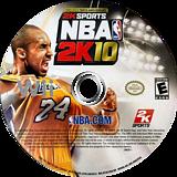 NBA 2K10 Wii disc (R76E54)