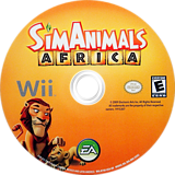 SimAnimals Africa Wii disc (R7AE69)