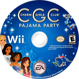 Charm Girls Club: Pajama Party Wii disc (R7IE69)