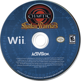 Chaotic: Shadow Warriors Wii disc (R7QE52)