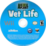 Animal Planet: Vet Life Wii disc (R82E52)