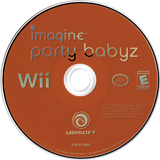 Imagine Party Babyz Wii disc (R8BE41)