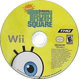 SpongeBob's Truth or Square Wii disc (R8IE78)