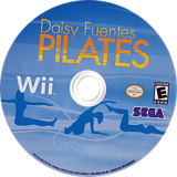 Daisy Fuentes Pilates Wii disc (R8ZE8P)