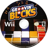 Groovin' Blocks Wii disc (R9KE20)