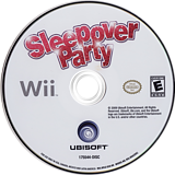 Sleepover Party Wii disc (R9LE41)