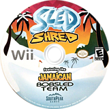 Sled Shred Wii disc (R9YES5)