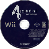Resident Evil 4: Wii Edition Wii disc (RB4E08)