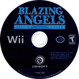 Blazing Angels: Squadrons of WWII Wii disc (RBAE41)