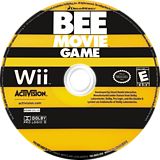 Bee Movie Game Wii disc (RBEE52)