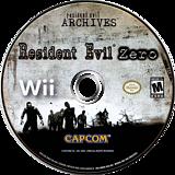 Resident Evil Archives: Resident Evil Zero Wii disc (RBHE08)