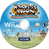 Harvest Moon: Animal Parade Wii disc (RBIEE9)