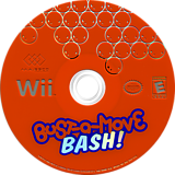 Bust-a-Move Bash! Wii disc (RBME5G)
