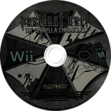 Resident Evil: The Umbrella Chronicles Wii disc (RBUE08)