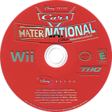 Cars: Mater-National Wii disc (RC2E78)