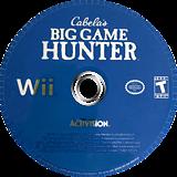 Cabela's Big Game Hunter Wii disc (RCBE52)
