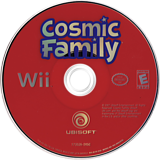 Cosmic Family Wii disc (RCFE41)