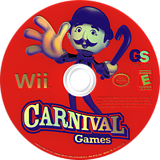 Carnival Games Wii disc (RCGE54)