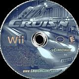 Cruis'n Wii disc (RCRE5D)