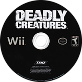 Deadly Creatures Wii disc (RDCE78)