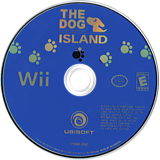 The Dog Island Wii disc (RDIE41)