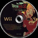 Dragon Ball Z: Budokai Tenkaichi 3 Wii disc (RDSE70)
