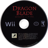 Dragon Blade: Wrath of Fire Wii disc (RDWEG9)