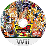 Dragon Ball Z Budokai Tenkaichi 3 Version! Latino Beta 3 CUSTOM disc (RDXE70)