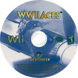 WWII Aces Wii disc (RE3ENR)