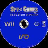 Spy Games: Elevator Mission Wii disc (RECE6K)