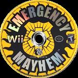 Emergency Mayhem Wii disc (REGE36)