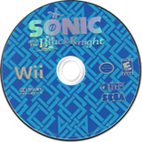 Sonic and the Black Knight Wii disc (RENE8P)