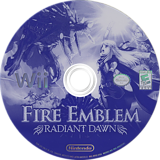 Fire Emblem: Radiant Dawn Wii disc (RFEE01)