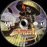 Shiren the Wanderer Wii disc (RFSEEB)