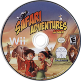 Safari Adventures Africa Wii disc (RFWE5Z)