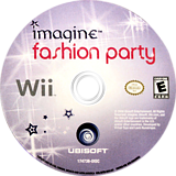 Imagine Fashion Party Wii disc (RFZE41)