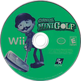 Carnival Games: Mini Golf Wii disc (RG9E54)
