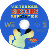 Victorious Boxers: Revolution Wii disc (RHIEXJ)