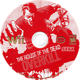The House of the Dead: Overkill Wii disc (RHOE8P)