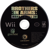 Brothers In Arms: Road to Hill 30 Wii disc (RI8E41)