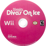 Diva Girls: Divas on Ice Wii disc (RI9EGT)