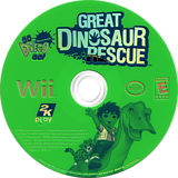 Go, Diego, Go! Great Dinosaur Rescue Wii disc (RIGE54)