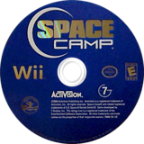 Space Camp Wii disc (RIYE52)