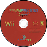 Indianapolis 500 Legends Wii disc (RIZENR)