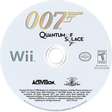 007: Quantum of Solace Wii disc (RJ2E52)