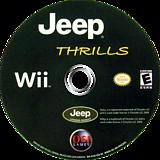 Jeep Thrills Wii disc (RJ3E20)