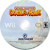 Jewel Master: Cradle of Rome Wii disc (RJ4ENR)