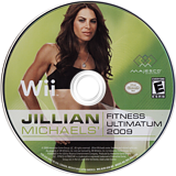 Jillian Michaels' Fitness Ultimatum 2009 Wii disc (RJFE5G)