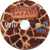 Jambo! Safari Animal Rescue Wii disc (RJJE8P)